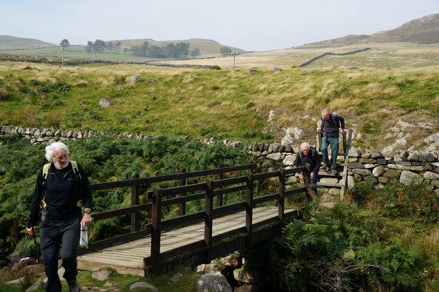 Footbridge over Afon Gyrach