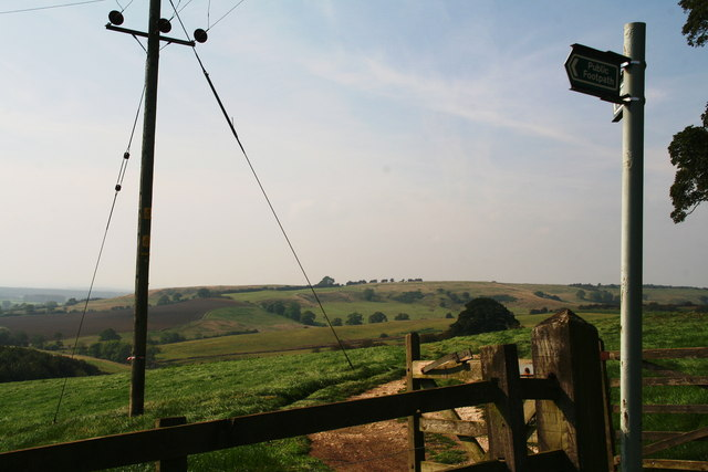 Footpath from Otby to Walesby
