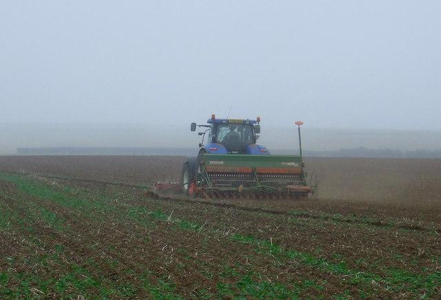 Tractor, Thornholme Field
