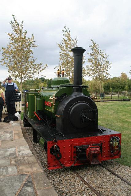 Statfold Barn Railway - narrow gauge locomotive