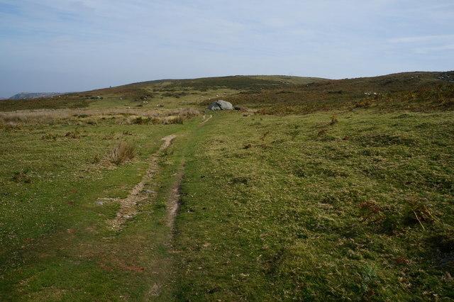 North Wales Path on Cefn Liechen