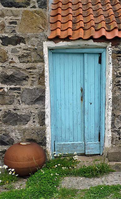A door at Crovie