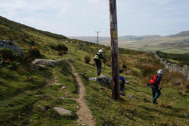 The North Wales Path at Waen Gyrach
