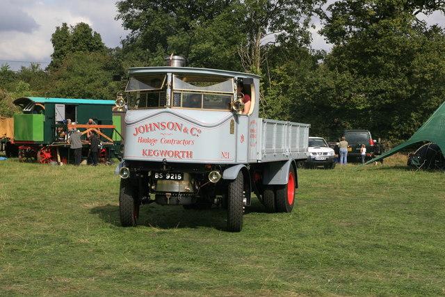 Statfold Barn Railway - steam wagon