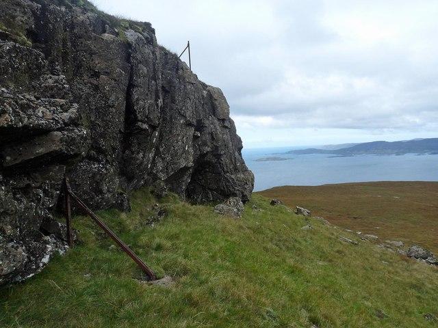 Fenceline, Meall nan Capall, Ardmeanach, Isle of Mull
