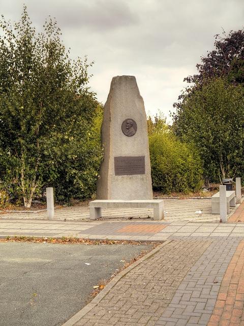 Marshall Stevens Memorial, Trafford Park Village