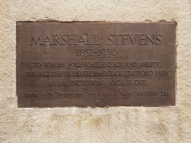 Marshall Stevens Memorial Plaque