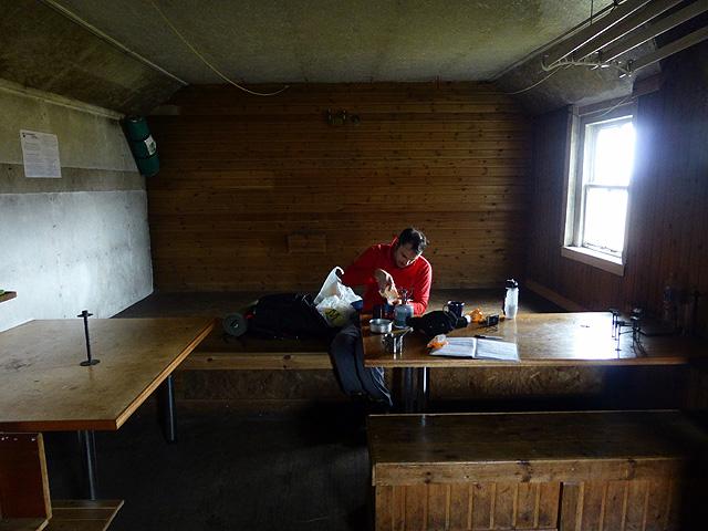 Inside Culra Bothy