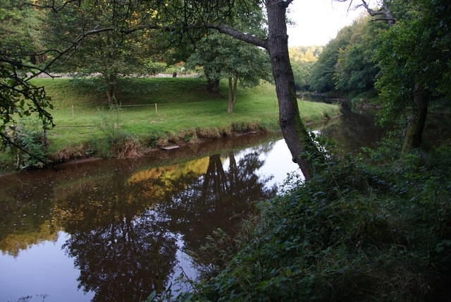 The River Esk below Glaisdale