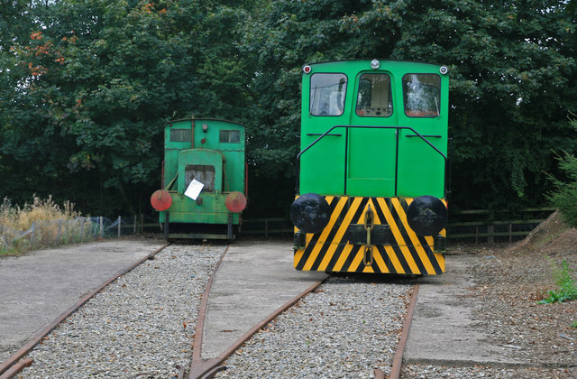 Statfold Barn Railway - standard gauge