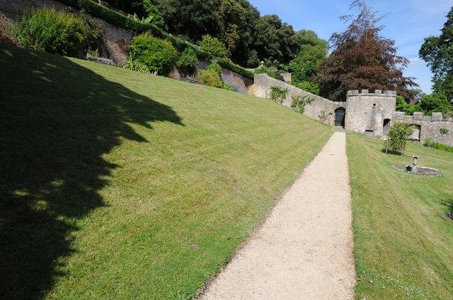 Garden at Clevedon Court