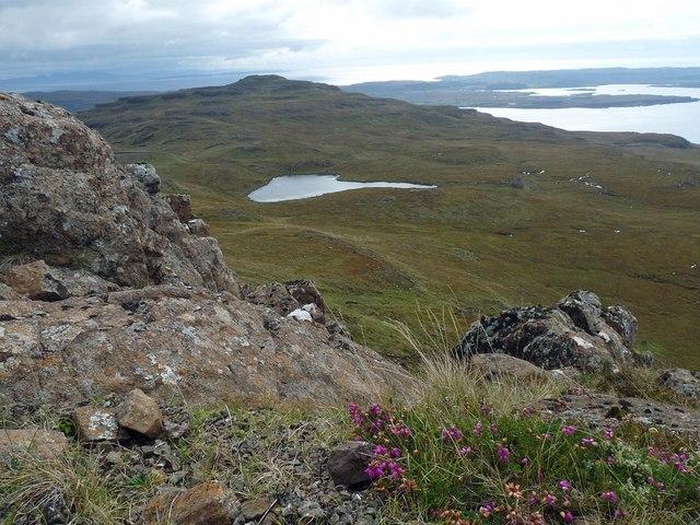 Lochan Druim an Aionidh, Ardmeanach, Isle of Mull