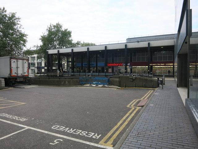 Sainsbury's Local, Euston Station
