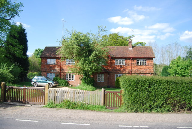 Row of cottages