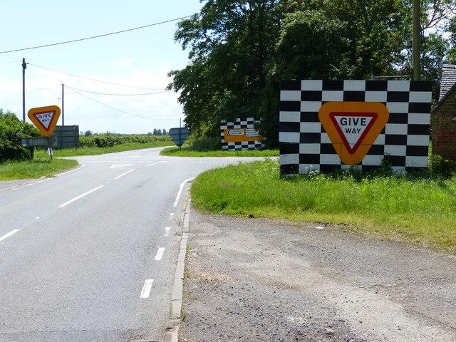 Road signs at Cloudesley Bush