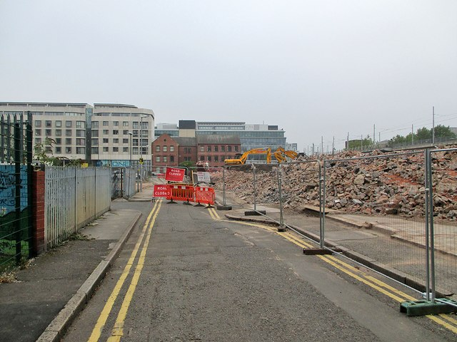 Demolition, Popham Street