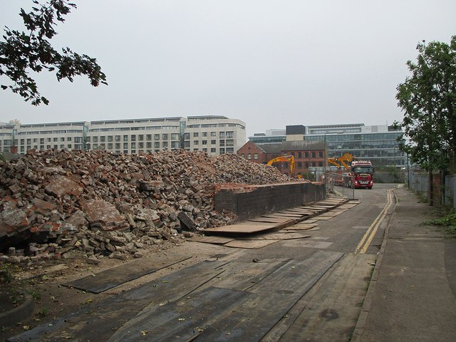 Demolition, Maltmill Lane