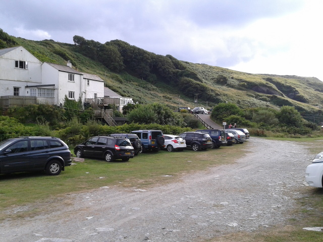 Overflow parking for Trebarwith Stand