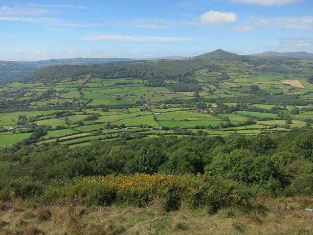 View from Ysgyryd Fawr (Skirrid)