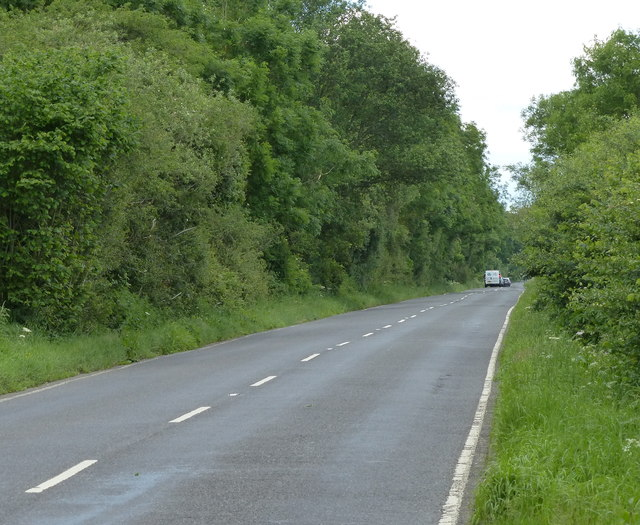 Heading north along the B4455 Fosse Way