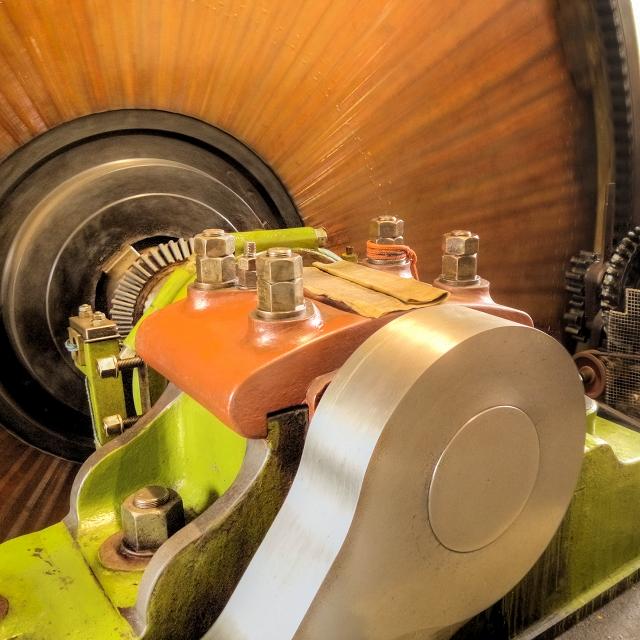 S S Stott Horizontal Cross Compound Engine, Grane Mill