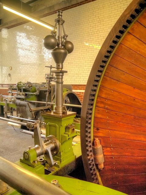 Steam Engine Close Up, Grane Mill