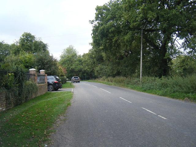 Budworth Road at Lower Feldy Green