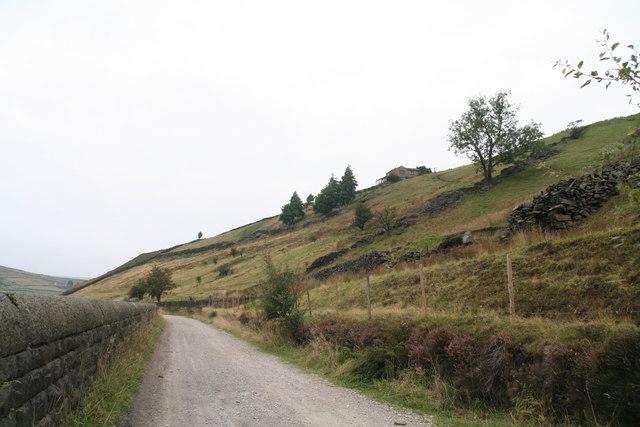 Towards Marsden on the Kirklees Way