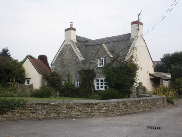 Thatched cottage, Littleton Drew