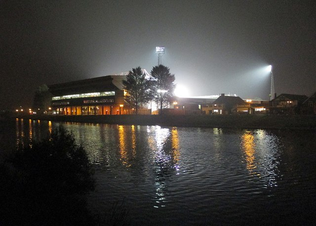 The City Ground on match night