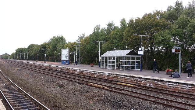 Kilmarnock station - platform 4