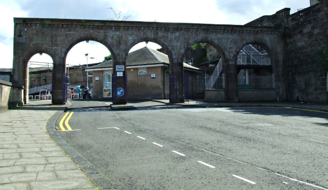 Greenock Central railway station