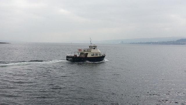 Island Princess leaving for Gourock