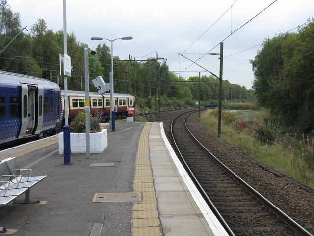 View south from Hyndland station