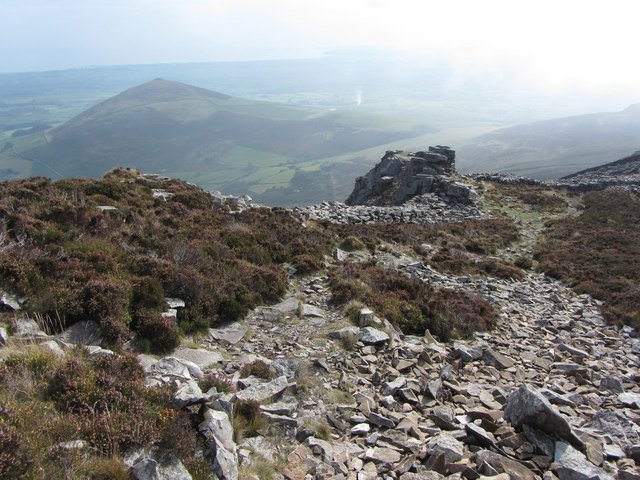 Tre'r Ceiri iron-age hillfort