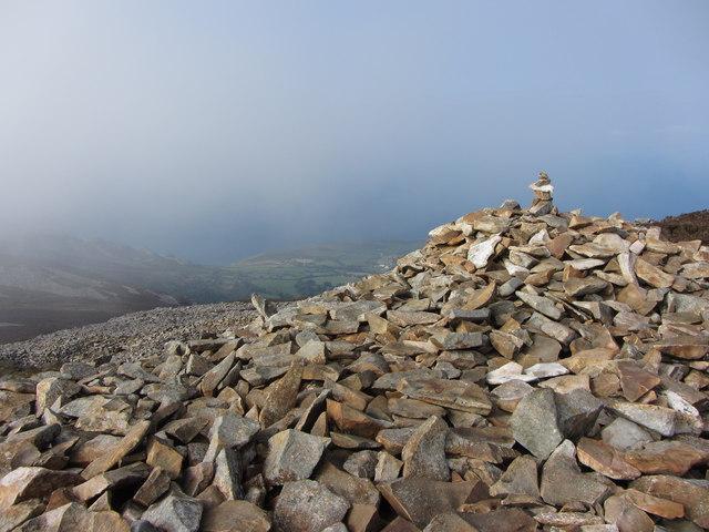 Cairn on Tre'r Ceiri