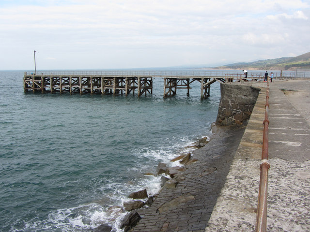 Trefor breakwater and pier