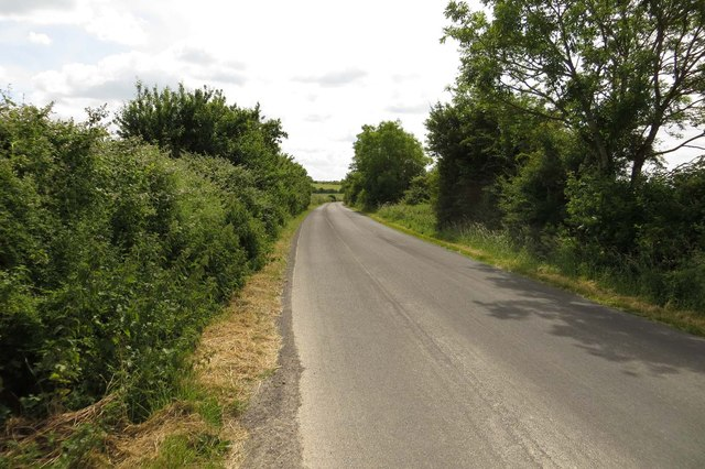 The road to Bishopstone
