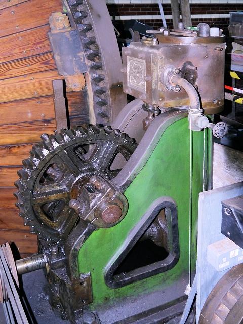 Steam Engine at Haslingden Grane Mill (Close up)