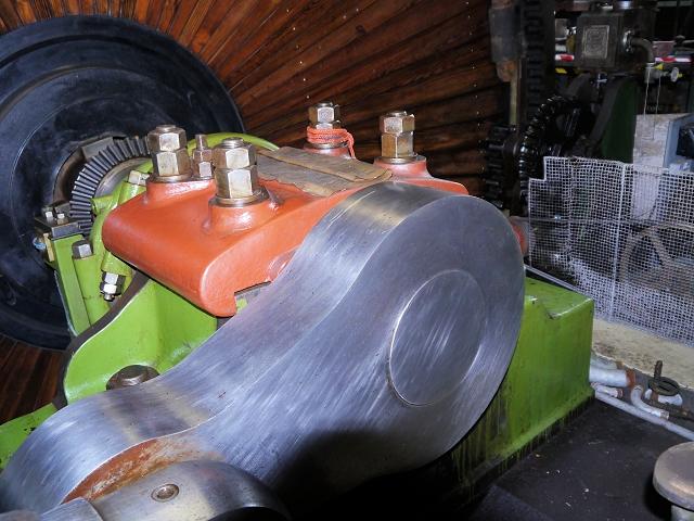 Mill Engine Detail, Haslingden Grane