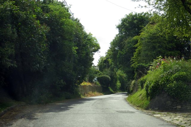 The road to Wanborough