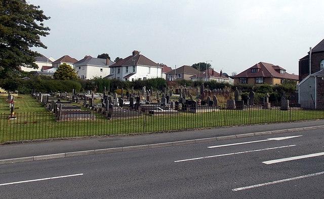 Siloam churchyard, Killay, Swansea