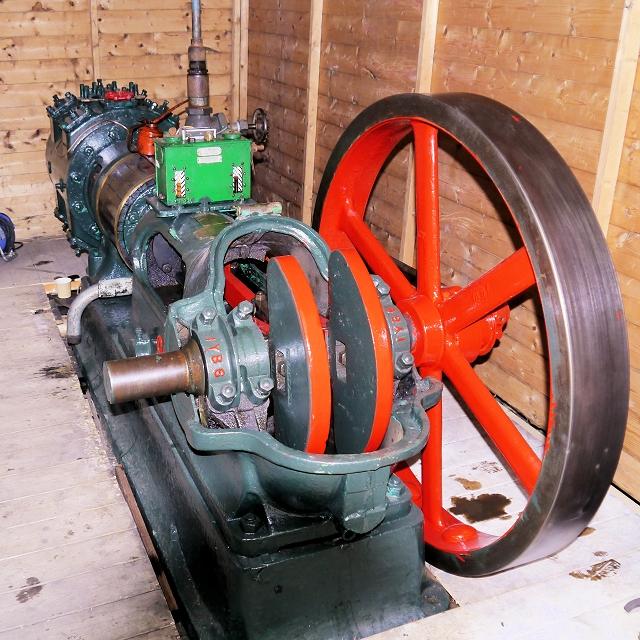 Steam Compressor at Grane Mill