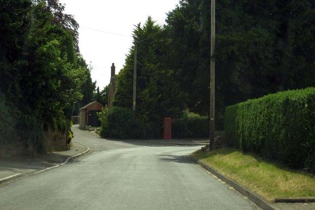 Church Road through Upper Wanborough