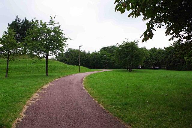Path in Dulverton Drive Local Park, Dulverton Drive, Furzton, Milton Keynes