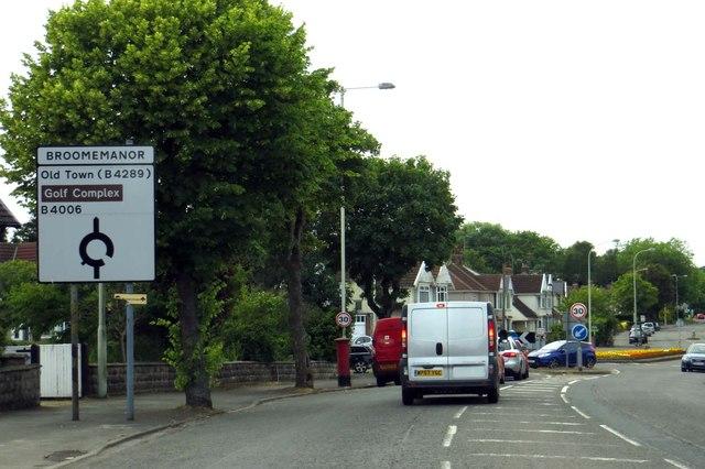 Marlborough Road in Swindon