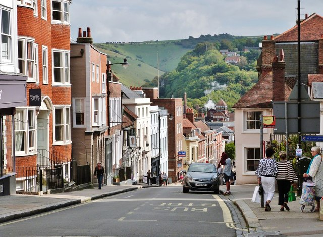 High Street, Lewes, East Sussex
