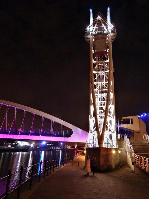 The Lowry Bridge, Salford Quays