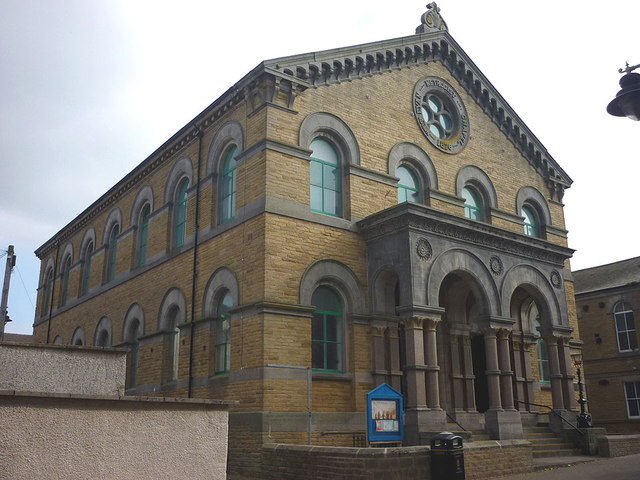 The GYM Methodist Church, Green Street, Morecambe