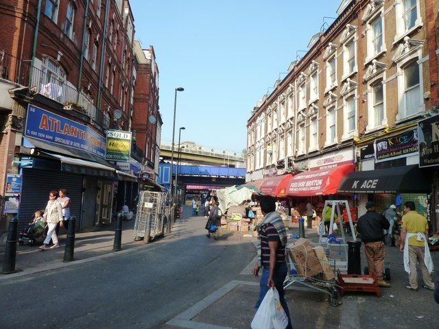 Market on Electric Avenue, Brixton
